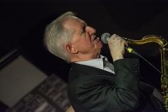 Scott Hamilton performing at Fleet Jazz Club on 16th January 2018. Photograph courtesy of David Fisher from the Aldershot, Farnham & Fleet Camera Club