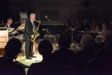 The Scott Hamilton Quartet performing at Fleet Jazz Club on 16th January 2018. Photograph courtesy of David Fisher from the Aldershot, Farnham & Fleet Camera Club