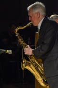 Scott Hamilton performing at Fleet Jazz Club on 16th January 2018. Photograph courtesy of David Fisher from the Aldershot, Farnham & Fleet Camera Club