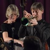 Paul Higgs & Marianne Windham performing at Fleet Jazz Club on 20th February 2018. Photograph courtesy of David Fisher from the Aldershot, Farnham & Fleet Camera Club