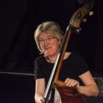 Marianne Windham performing at Fleet Jazz Club on 20th February 2018. Photograph courtesy of David Fisher from the Aldershot, Farnham & Fleet Camera Club
