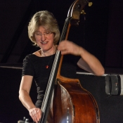 Marianne Windham performing at Fleet Jazz Club on 20th February 2018. Photograph courtesy of David Fisher from the Aldershot, Farnham & Fleet Camera Club