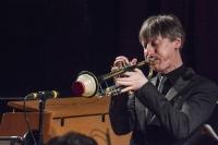 Paul Higgs performing at Fleet Jazz Club on 20th February 2018. Photograph courtesy of David Fisher from the Aldershot, Farnham & Fleet Camera Club