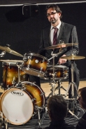 George Double at Fleet Jazz Club on 20th February 2018. Photograph courtesy of David Fisher from the Aldershot, Farnham & Fleet Camera Club