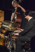 Marianne Windham & George Double performing at Fleet Jazz Club on 20th February 2018. Photograph courtesy of David Fisher from the Aldershot, Farnham & Fleet Camera Club