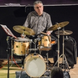 Alex Eberhard performing at Fleet Jazz Club on 20th March 2018. Photograph courtesy of David Fisher from the Aldershot, Farnham & Fleet Camera Club