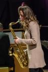 Judith O'Higgins performing at Fleet Jazz Club on 20th March 2018. Photograph courtesy of David Fisher from the Aldershot, Farnham & Fleet Camera Club