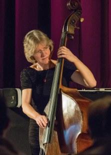 Marianne Windham performing at Fleet Jazz Club on 20th February 2018. Photograph courtesy of Michael Carrington from the Aldershot, Farnham & Fleet Camera Club.
