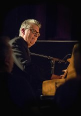 Chris Ingham performing at Fleet Jazz Club on 20th February 2018. Photograph courtesy of Michael Carrington from the Aldershot, Farnham & Fleet Camera Club.