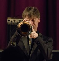 Paul Higgs performing at Fleet Jazz Club on 20th February 2018. Photograph courtesy of Michael Carrington from the Aldershot, Farnham & Fleet Camera Club.