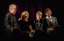 The Chris Ingham Quartet performing at Fleet Jazz Club on 20th February 2018. Photograph courtesy of Michael Carrington from the Aldershot, Farnham & Fleet Camera Club.