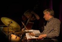 Alex Eberhard performing at Fleet Jazz Club on 20th March 2018. Photograph courtesy of Michael Carrington from the Aldershot, Farnham & Fleet Camera Club