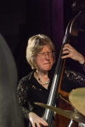 Marianne Windham performing at Fleet Jazz Club on 17th April 2018. Photograph courtesy of David Fisher from the Aldershot, Farnham & Fleet Camera Club.