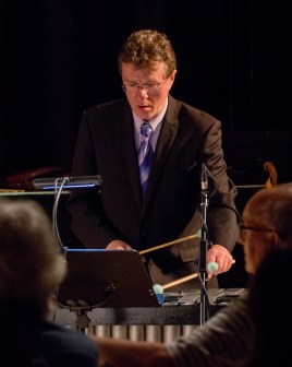 Anthony Kerr performing at Fleet Jazz Club on 19th June. Photograph courtesy of David Fisher (from the Aldershot, Farnham & Fleet Camera Club).