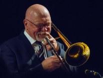 Gordon Campbell performing at Fleet Jazz Club on 19th June. Photograph courtesy of Michael Carrington (from the Aldershot, Farnham & Fleet Camera Club).