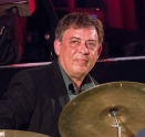 Clark Tracey leading his Stan Tracey Legacy Big Band performing at Fleet Jazz Club on Tuesday, 17th July. Photograph courtesy of Michael Carrington (Aldershot, Farnham & Fleet Camera Club).