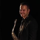 Vasilis Xenopulos performing at Fleet Jazz Club on 18th September 2018. Photograph courtesy of Ana Peiro (Aldershot, Farnham & Fleet Camera Club)
