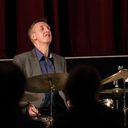 Steve Brown performing at Fleet Jazz Club on 18th September 2018. Photograph courtesy of Ana Peiro (Aldershot, Farnham & Fleet Camera Club)