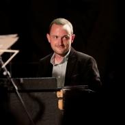 Ross Stanley performing at Fleet Jazz Club on 18th September 2018. Photograph courtesy of Ana Peiro (Aldershot, Farnham & Fleet Camera Club)