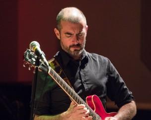 Chris Allard performing at Fleet Jazz Club on 13th November 2018. Photograph courtesy of Jeff Kelsey (Aldershot, Farnham and Fleet Camera Club).