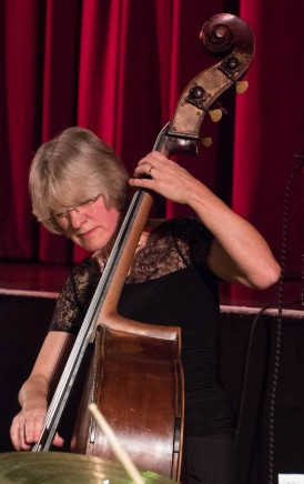 Marianne Windham performing at Fleet Jazz Club on 13th November 2018. Photograph courtesy of Jeff Kelsey (Aldershot, Farnham and Fleet Camera Club).