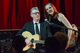 Joanna Eden and Chris Ingham performing at Fleet Jazz Club on 4th December 2018. Photograph courtesy of David Fisher (Aldershot, Farnham and Fleet Camera Club).