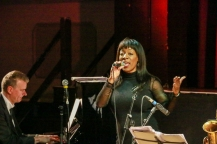Deelee Dubé and at Fleet Jazz on 15th Jan 2019. Image courtesy of Robert Rowley (Aldershot, Farnham and Fleet Camera Club).