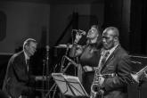 Tony Kofi Quintet at Fleet Jazz on 15th Jan 2019. Image courtesy of Robert Rowley (Aldershot, Farnham and Fleet Camera Club).