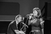 Alex Webb and Deelee Dubé and at Fleet Jazz on 15th Jan 2019. Image courtesy of Robert Rowley (Aldershot, Farnham and Fleet Camera Club).