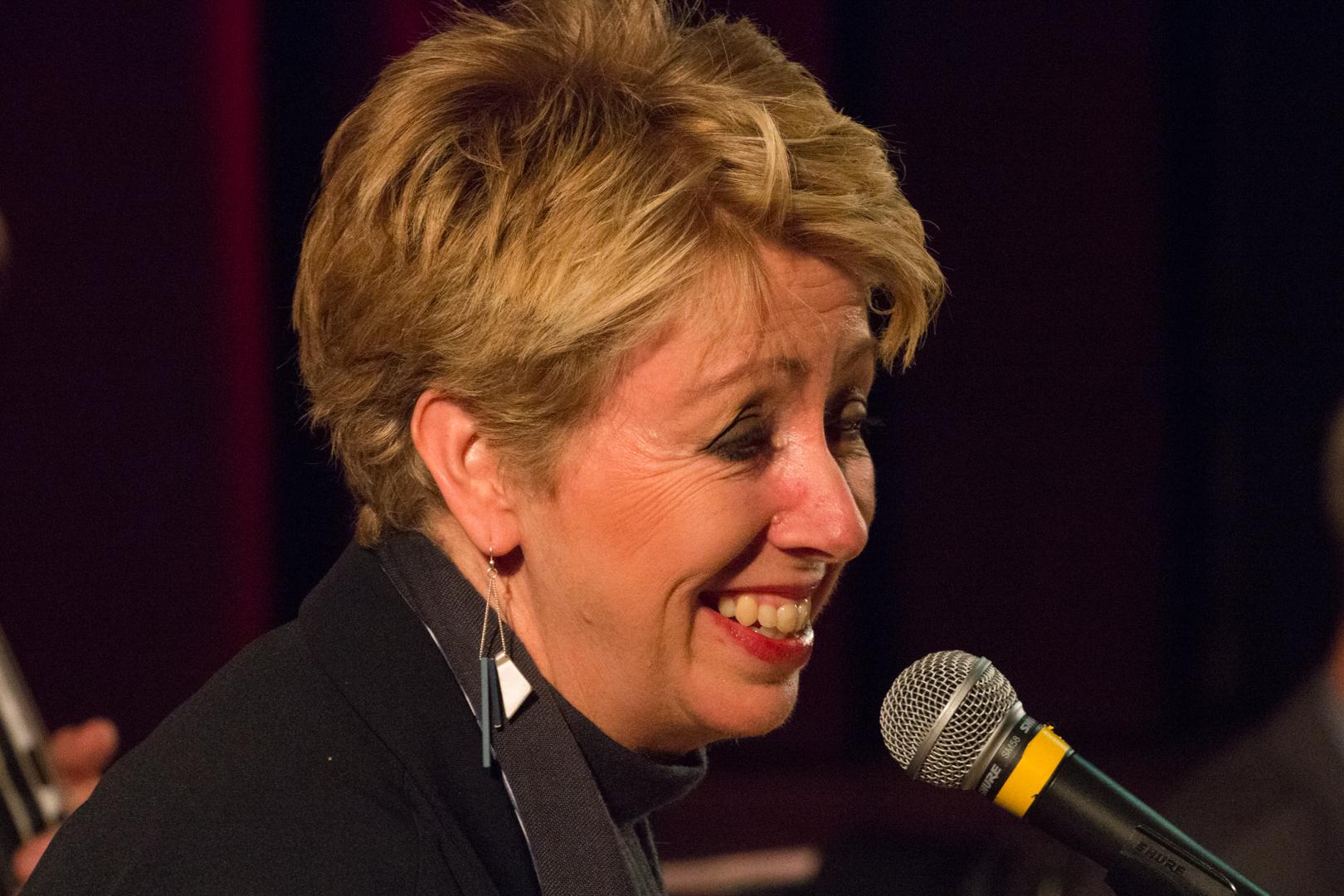 Nikki Iles performing at Fleet Jazz on 19th Feb 2019