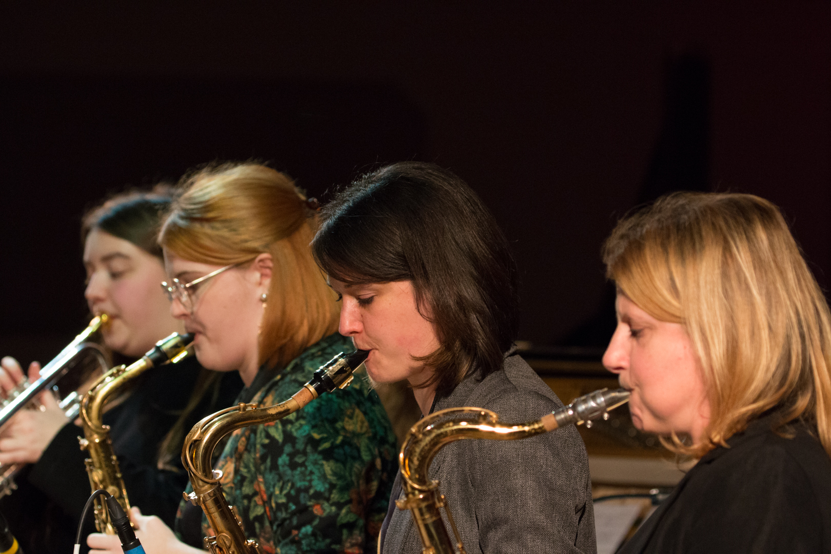 Nikki Iles All Star Septet at Fleet Jazz on 19th Feb 2019
