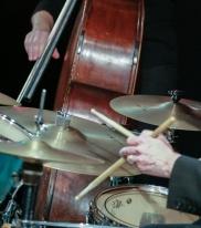 Nick Millward performing with The Craig Milverton Quintet at Fleet Jazz Club on 21th May 2019. Photograph courtesy of Robert Rowley (Aldershot, Farnham and Fleet Camera Club)