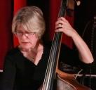 Marianne Windham performing with The Craig Milverton Quintet at Fleet Jazz Club on 21th May 2019. Photograph courtesy of Robert Rowley (Aldershot, Farnham and Fleet Camera Club)