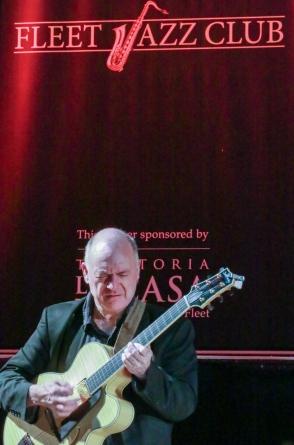 Dominic Ashworth performing with The Craig Milverton Quintet at Fleet Jazz Club on 21th May 2019. Photograph courtesy of Robert Rowley (Aldershot, Farnham and Fleet Camera Club)