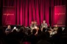 The Brandon Allen Quartet perfoming at Fleet Jazz Club on 18th June 2019. Photograph courtesy of Michael Carrington (Aldershot, Farnham and Fleet Camera Club)